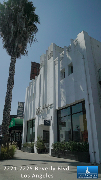 Commercial property management Beverly Blvd. Los Angeles