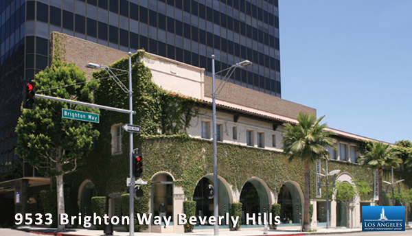 9533 Brighton Way Beverly Hills Commercial Property Management