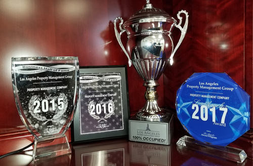 Los Angeles Property Management Group Awards