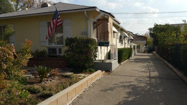 Burbank CA rental property