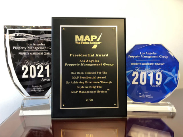 Best property management in Los Angeles - Our Awards