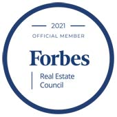 2021 Member of Forbes Real Estate Council