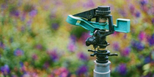 Sprinkler system at your rental home